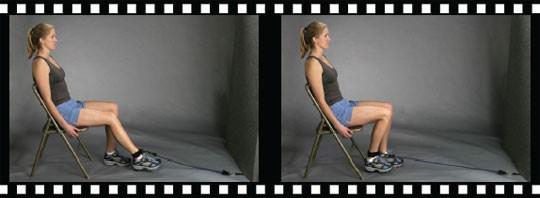 تقویت عضله پشت ران