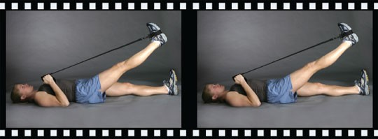 کشش عضله پشت ران