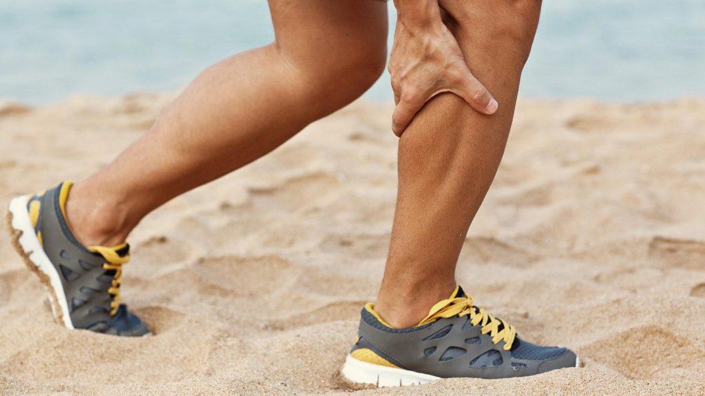 فیزیوتراپی عضلات ساق پا