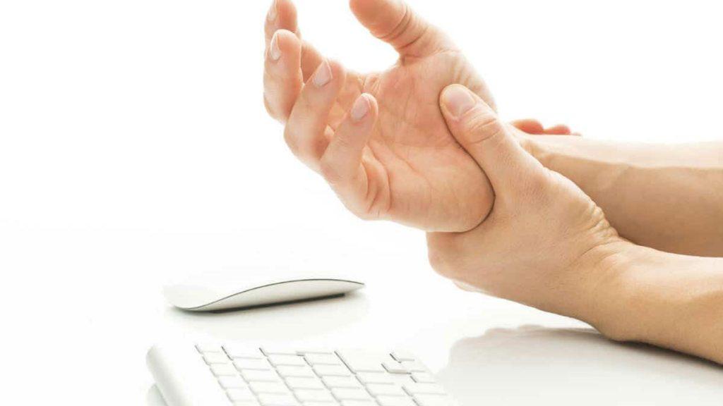 صدمات محیط کار، فعالیت تکراری و مداوم