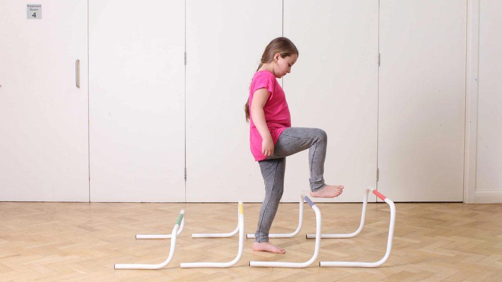 فیزیوتراپی، مشکل در راه رفتن کودکان