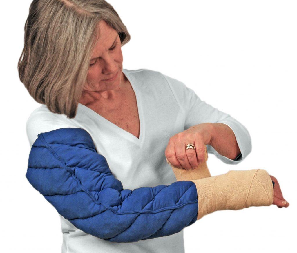 افزایش جریان خون در اندام با فشار